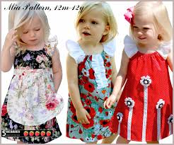 mia peasant dress pattern free mother daughter apron