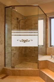 aufkleber dusche ornament gd668 sichtschutz 80 cm hoch