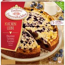 coppenrath wiese blaubeer schoko kuchen mit rahm tiefgefroren 900 g packung
