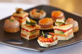 canapes for 16 essential catering terms to when booking your wedding