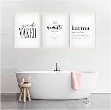 xiongda plakate und drucke toilette leben modulare wandkunst