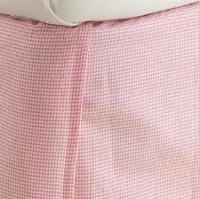 Gingham Check Bedskirt