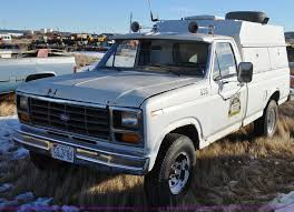 100 1982 Ford Truck F250 Utility Bed Truck Item C3330 SOLD March