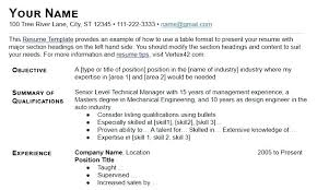 Resume Templates Google Basic Template References Docs Word 2013 Personal Job Examples
