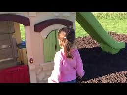 Step2 Playhouses Slides U0026 Climbers by Kid Approved Step2 2 Story Playhouse U0026 Slide Youtube