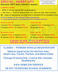 100 Truck Licence DRIVING SCHOOL IN RANDBURG RELIABLE AND PROFESSIONAL Learners