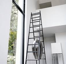 Black Ladders Modern Vase | Interior Design Ideas. Awesome Ladder Ideas In Home Design Contemporary Interior Compact Staircase Designs Staircases For Tight Es Of Stairs Inside House Best Small On Simple Fniture Using Straight Wooden And Neat Pating Fold Down Attic Halfway Open Comfy Space Library Bookshelf Images Amazing Step Shelves Curihouseorg Spectacular White Metal Spiral With Foot Modern Pictures Solutions