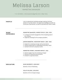 Moss Green Simple Resume Templates By Canva Throughout Template