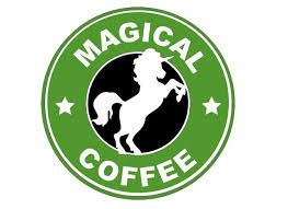 Magical Coffee Unicorn Starbucks Decal For Yetis Sticker
