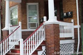 Columns On Front Porch by Wood Front Porch With Pillars Interunet