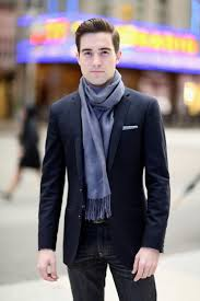 men u0027s navy blazer black jeans white pocket square light blue