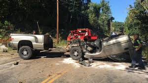 100 Truck Accident Today Chevy Silverado Pickup Cab Separates From Frame In Bizarre Rollover
