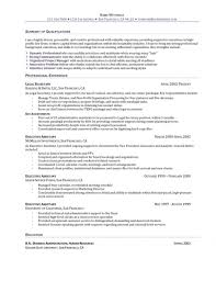 basic objectives for resumes general entry level resume objective resume template exle