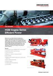 guascor hgm engines series flier dresser rand pdf catalogue