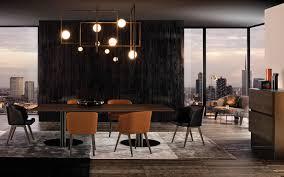 100 Minotti Dining Table BELLAGIO DINING PEWTER TABLES EN