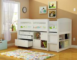 Low Loft Bed With Desk by Low Loft Bed With Storage And Desk Home Design And Decoration