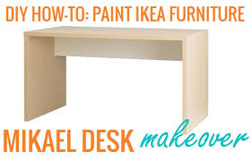 The Lovely Side DIY How To Paint Ikea Furniture
