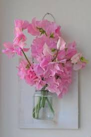 I Just Stumbled Upon This Sweet Wall Vase On Cupcakes And Cashmere What A Great DIY Project Love The Peas