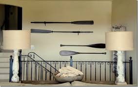 decorative oars and paddles decorative wooden oars interior design nautical handcrafted