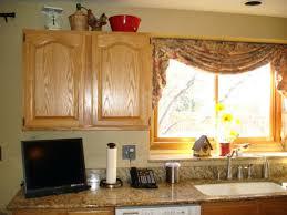 Large Size Of Diy Burlap Kitchen Curtains Window Treatment Ideas Amusing Treatments Idea With Wooden Cabinet
