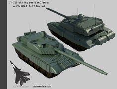 leclerc siege auto e50 successor dark87 pl tank and