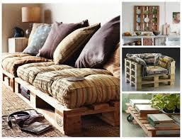 palette canapé mosaïque de canapés en palette inspirations et idées