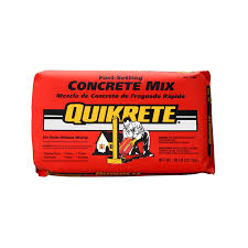 Quikrete Self Leveling Floor Resurfacer by Shop Quikrete 50 Lb Gray Fast Setting Concrete Mix At Lowes Com