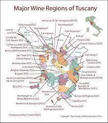 Tuscany Italy SWE Map 2017 Wine Wit And Wisdom