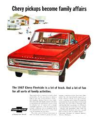 Chevrolet Trucks Advertising Campaign (1967): A Brand New Breed! - Blog 1967 Chevrolet C10 Custom Pickup Red Hills Rods And Choppers Inc Hot Rod Network Chevy Stepside Truck 454400 12 Bolt Posi Ps Rebuilt A 67 With 405hp Zz6 To Celebrate 100 Years Of Ck For Sale Near Cadillac Michigan 49601 S241 Kansas City Spring 2012 Sema Seen Ctennialcelebration Pickup Truck K20 4x4 Cars Trucks Web Museum Ousci Preview Chris Smiths For Sale396fully Restored Fantastic