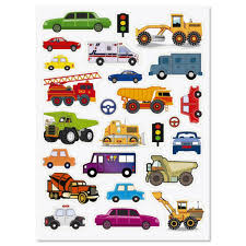 100 50 Cars And Trucks Amazoncom And Stickers Stickers Toys Games