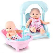 Mini Reborn Baby Dolls 125cm Newborn Baby Toys Handmade Girl Doll