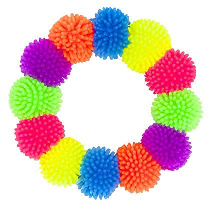 American Jewel Pom Pom Ball Fidget Bracelet - Sensory Fidget Toy for A