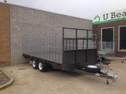 100 Tandem Truck 16 8 Flat Top With Gates 3500kg ATM U Beaut Trailers