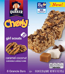 Quaker Chewy Superman Chocolate Chips Granola Bars Thin Mints