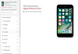 Apple iPhone 6 Plus Support Overview