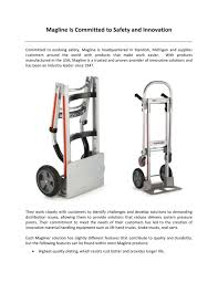 100 Magliner Hand Trucks PPT Magline Is Committed To Safety And Innovation