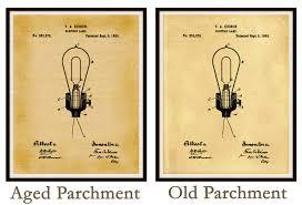 patent 1882 edison electric light bulb electric l patent