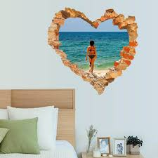 Wall Mural Decals Beach by Beach Wall Quotes Promotion Shop For Promotional Beach Wall Quotes