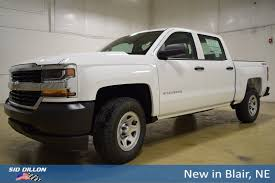 New 2018 Chevrolet Silverado 1500 Work Truck Crew Cab In Blair ...