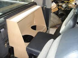 Reg Cab Truck Subwoofer Box 1 Or 2- 10