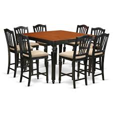 9 PC Counter Height Set- Square Pub Table And 8 Kitchen Counter Chairs Ding Room Bernhardt Buy 8 Seat Bar Pub Tables Online At Overstock Our Best Fniture Table Sets Mathis Ashley Dinette Inviting Ideas Seat Table 2 Trade Sales High Top Brilliant Kitchen Wooden Chairs And Amazoncom Asher Amada Patio Wood Pnic Beer Essentials Small Legionsportsclub 90 Round Mahogany Radial With Jupe Patent Action Brackenstyle Brown Bench Seater Garden