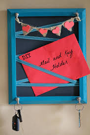 Decorative Key Holder For Wall by How To Make A Wall Diy Key Holder