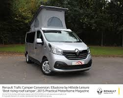 RENAULT TRAFIC CAMPER CONVERSION RAISES THE ROOF IN MOTORHOME OF YEAR AWARDS
