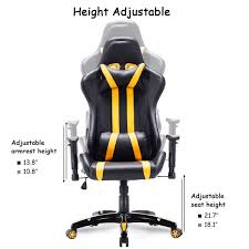 Giantex High Back Executive Racing Style Gaming Chair Dxracer Rw106 Racing Series Gaming Chair White Ohrw106nwca Ofm Essentials Style Faux Leather Highback New Padding Ueblack Item 725999 Ascari Ai01 Black Office Official Website Pc Game Big And Tall Synthetic Gaming Chair Computer Best Budget Chairs Rlgear Shield Chairs Top Quality For U Dxracereu Details About Video High Back Ergonomic Recliner Desk Seat Footrest Openwheeler Simulator Driving Simulator Costway Wlumbar Support
