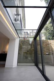 100 Glass Extention The Versatile Glass Extension On This Traditional Home Uses A Glass