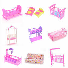 1Pc Multi Dolls House Kids Toy Darling Doll Furniture For Doll Rocking  Cradle Bed For Doll Accessories Children Toys