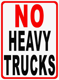 No Heavy Trucks Sign – Signs By SalaGraphics This Sign Says Both Dead End And No Thru Trucks Mildlyteresting Fork Lift Sign First Safety Signs Vintage No Trucks Main Clipart Road Signs No Heavy Trucks Day Ross Tagg Design Allowed In Neighborhood Rules Regulations Photo For Allowed Meashots Entry For Heavy Vehicles Prohibitory By Salagraphics Belgian Regulatory Road Stock Illustration Getty Images