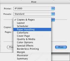 Printing In Reverse Page Order
