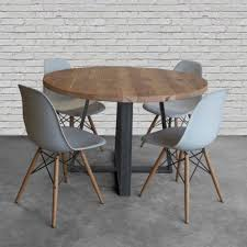 Lowes Round Wood Table Top Outstanding Diy Reclaimed Dining Luxury Room With 2