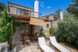100 Maisonette Houses Arsinoi Stone In Limenaria Thassos